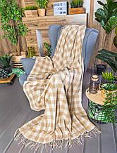 Плед с кисточками, 130х170 см, Пледы, Текстиль для дома