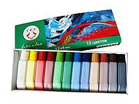 Набор акриловых красок YRE, 12 шт