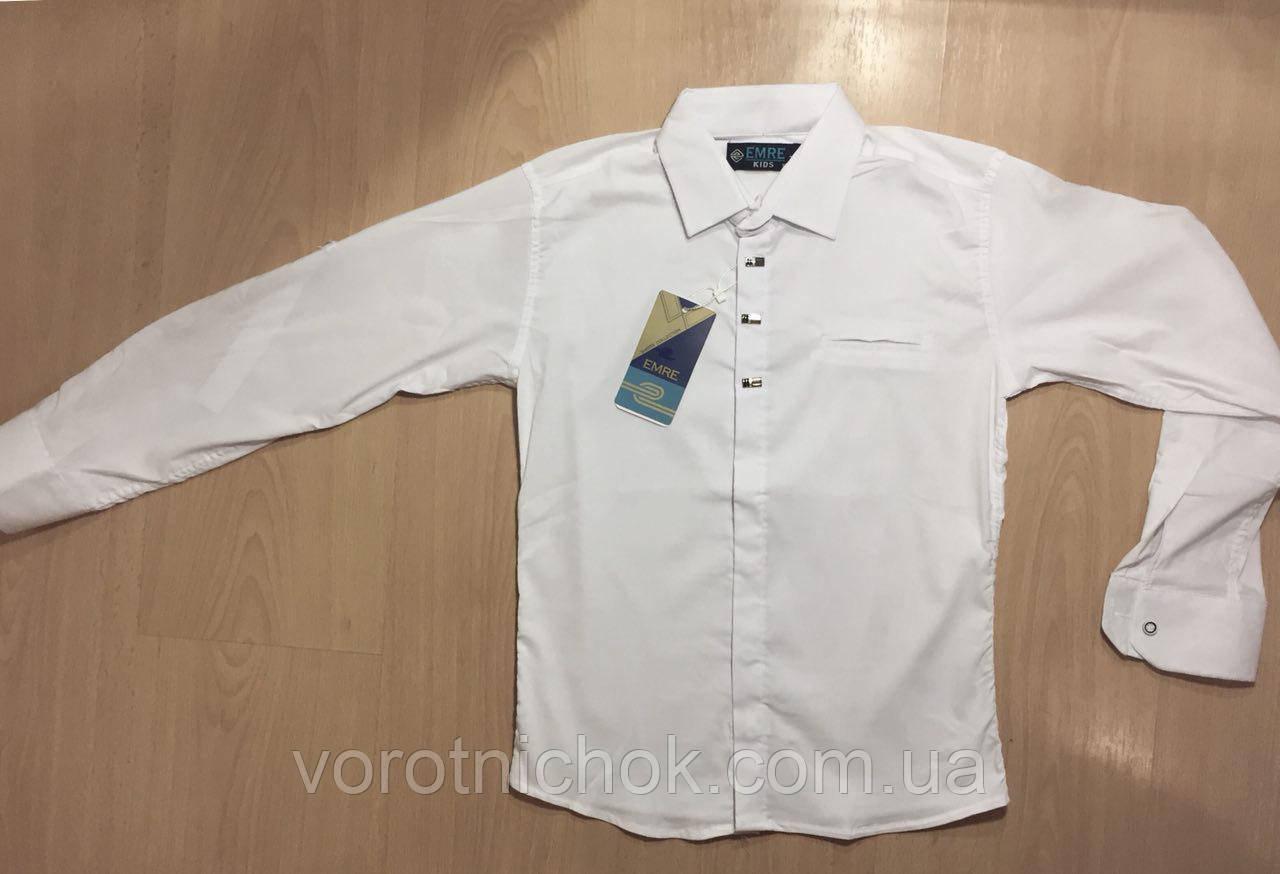 Детская рубашка для мальчиков 5- 10 лет