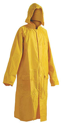 Плащ водостойкий Červa Полиэстер/ПВХ Neptun желтый, фото 2