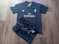 Форма детская 18/19 Реал Мадрид (Чёрная), фото 1
