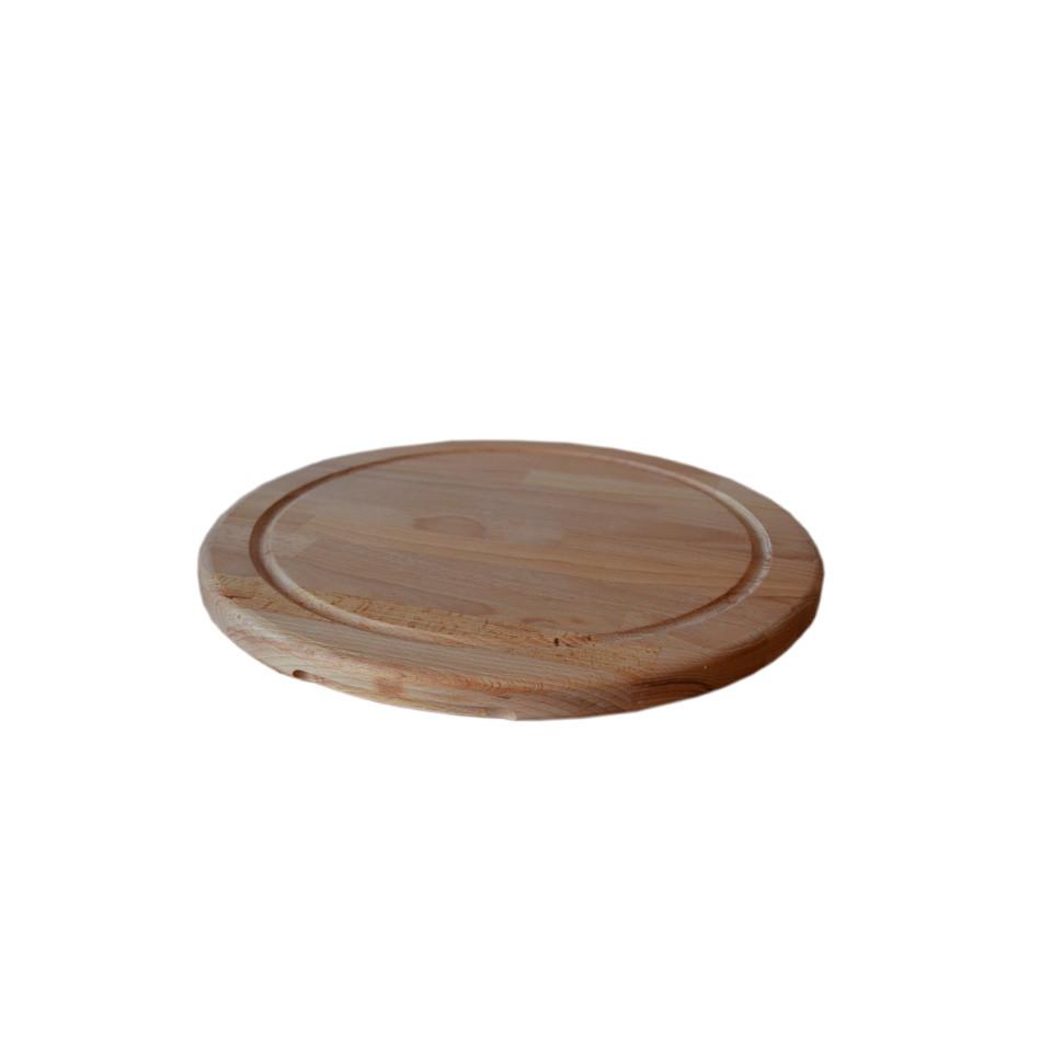 Дошка для піци, бук, 28 см