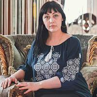 "Сорочка-вишиванка ""Марися"" штапель рр.42-56"