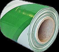 Предупреждающая лента TASO100ZW-251S ZW зелено-белого цвета, односторонняя Reis Польша