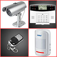 Беспроводные GSM Сигнализации и датчики, системы охраны