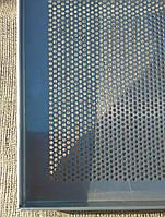 Противень алюминиевый перфорированный 600х400х20 мм, 3 борта, толщина 1,5 мм