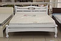 Кровать деревянная белая, фото 1