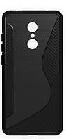 Силиконовый чехол Duotone для LG Q8 2018 (4 цвета), фото 1