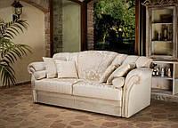 Раскладной классический диван VALENCIA фабрика CIS SALOTTI (Италия), матрас Memory 18 см