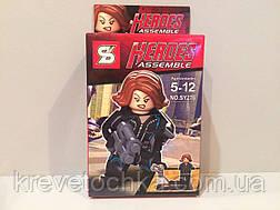 Лего супергерой Черная вдова , фото 2
