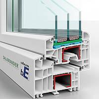 Вікна Окна металопластиковые ПВХ Германия Саламандер Salamander BluEvolution
