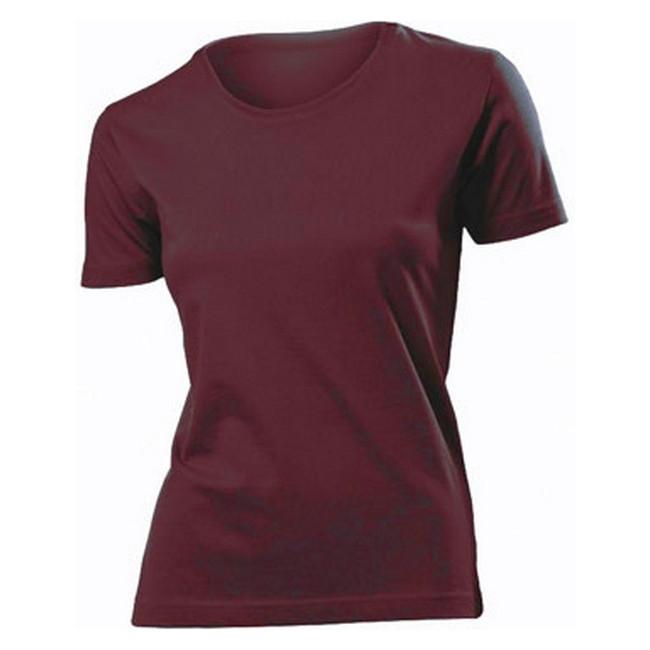 Футболка 'Stedman' 'Classic Women' Burgundy Red