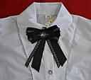Блуза-трансформер белая подростковая р. 140-164 (Польша), фото 3