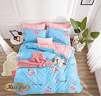 1,5-спальный комплект постельного белья ТМ Kris-pol (Украина) сатин хлопок 169372