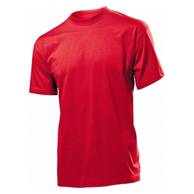 Футболка 'Stedman' 'Classic Men' Scarlet Red