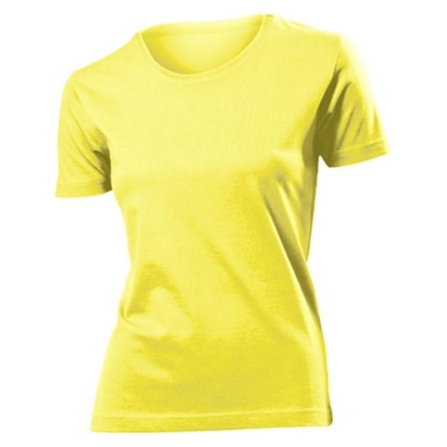 Футболка 'Stedman' 'Classic Women' Yellow