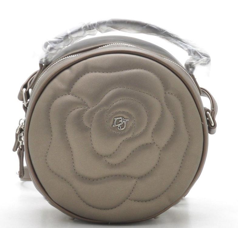8eb684eb709f круглый женский клатч Davidjones 3956 женские клатчи сумки через