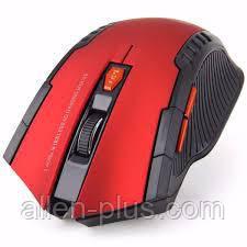 Мышь игровая беспроводная FANTECH WG7 GAREN (2000 DPI), Red, Wireless