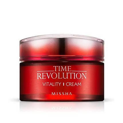 Интенсивный антивозрастной крем MISSHA Time Revolution Vitality Cream, 50 мл, фото 2
