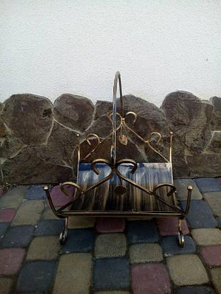 Дровниця ковані маленька, фото 2