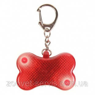 Брелок-фонарик-адресовка Trixie 1342 Красный