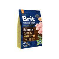 Brit Premium Junior Medium корм для щенков средних пород, 3 кг