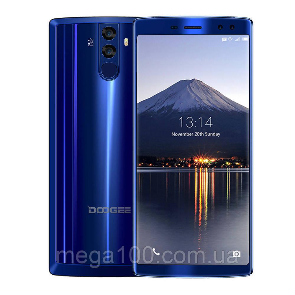 Смартфон Doogee BL12000 синий (экран 6 дюймов/ памяти 4Gb RAM+32Gb/ БАТАРЕЯ 12000 мАч)