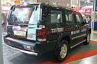 "Защита задняя ""труба"" d 60 Союз 96 на Jeep Commander 2006-2010"