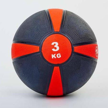М'яч медичний (медбол, гумова крихта) FI-5122-3 3 кг