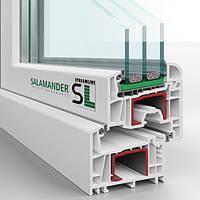 Окна металлопластиковые ПВХ Германия Саламандер Salamander StreamLine Германия