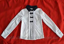 Блуза белая с бантиками для девочки (UMBO, Польша)
