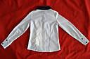 Блуза белая с бантиками для девочки (UMBO, Польша), фото 2