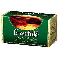 "Чай черный GOLDEN CEYLON 2гх25шт. ""Greenfield"" , пакет"