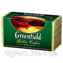 "Чай чорний GOLDEN CEYLON 2гх25шт. ""Greenfield"" , пакет"