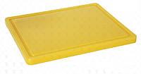 Доска разделочная пластиковая желтая 530x325 мм 826058 Hendi (Нидерланды)