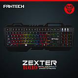 Клавіатура з LED підсвічуванням Fantech Zexter K610 Black (K610b), USB, фото 4