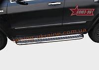 Пороги с листом d 60 Союз 96 на Jeep Grand Cherokee 2011-2013