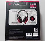 Наушники с микрофоном и регулятором громкости Fantech Shaco HG5 Black/Red (HG5), фото 9