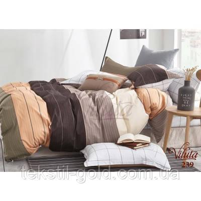 Полуторный комплект постельного белья TM VILUTA твил-сатин 239