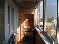 Окна ПВХ на лоджию балкон Rehau 60