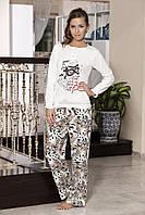 Женская пижама Shirly 5855, костюм домашний с повязкой на глаза для сна, фото 1