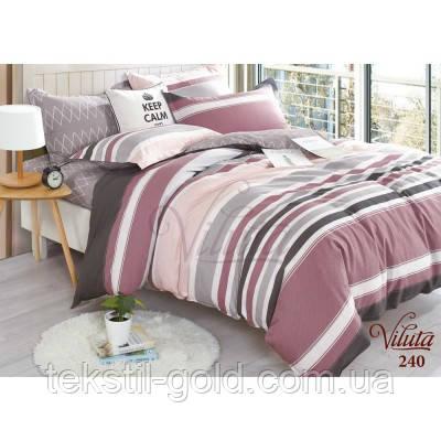 Полуторный комплект постельного белья TM VILUTA твил-сатин 240