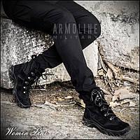 """Ботинки женские """"INTERPOL"""" BLACK (Низкие), фото 1"""