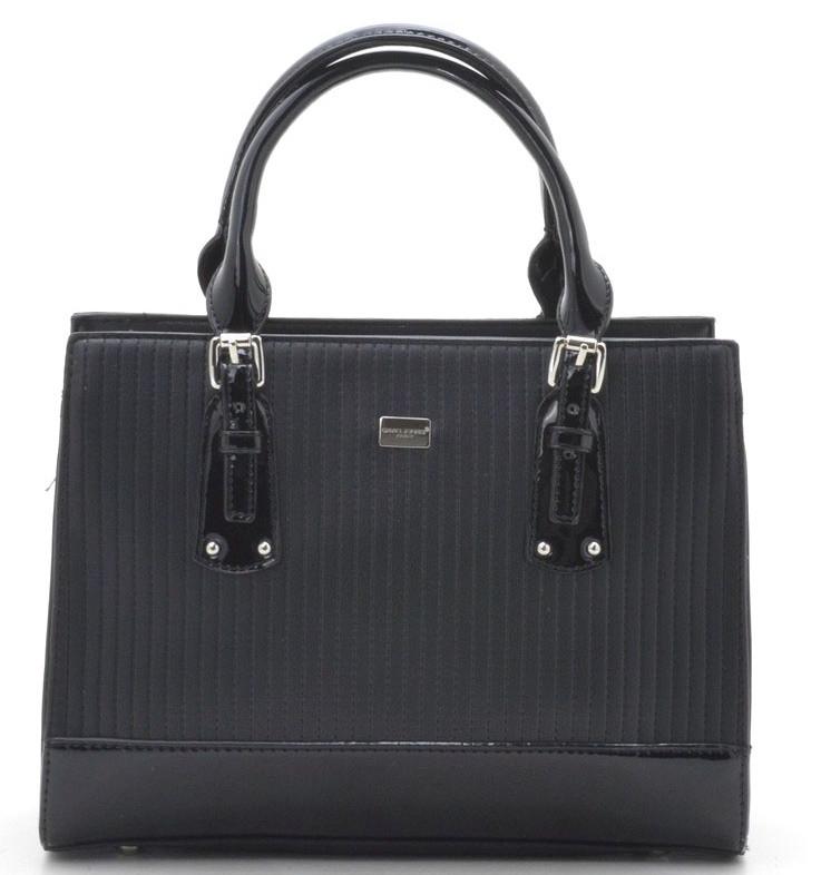 4449c0228a09 Женская сумка David Jones 5827-2 black купить женскую сумку Девид Джонс