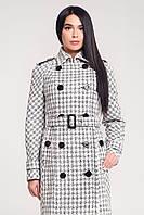 Стильное пальто женское в 2х цветах В-1130 Шанель-люрекс , фото 1