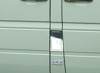 Накладка на лючок бензобака Mercedes Sprinter/Volkswagen LT 1996-2006