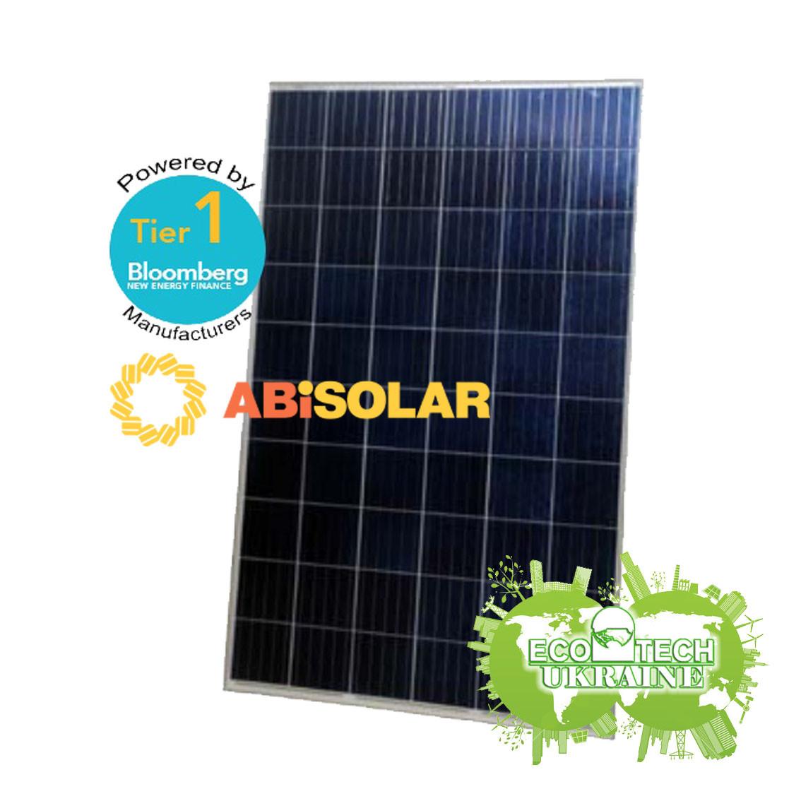 Солнечные панели (фотомодули, батареи) ABi-Solar АВ270-60P(CN31), 270 Wp, Poly