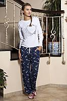 Женская пижама Shirly 5853, костюм домашний с повязкой на глаза для сна, фото 1