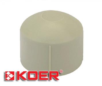 Заглушка Koer 20 полипропиленовая