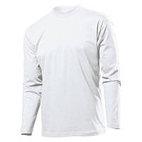 Футболка 'Stedman' 'Classic Long Sleeve Men' White